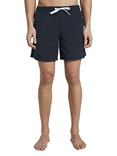 TOM TAILOR Herren Beachwear/Bademode Badeshorts mit Eingrifftaschen Sky Captain Blue,XL