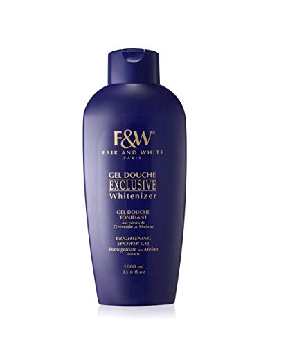 Fair & White Exclusive Shower Gel with Pomegranate and Melon Extracts (33.8 fl.oz / 1000ml)