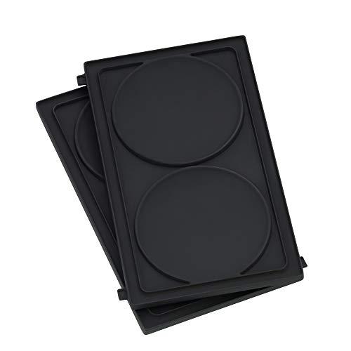WMF LONO Snack Master Zubehör, Pancake Platten-Set, 2 abnehmbare Plattensets, antihaftbeschichtet