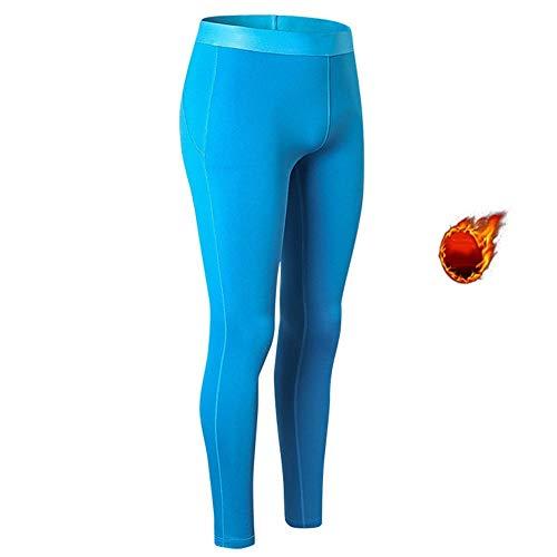 Dames Tight Leggings, Winter Plus Fluwelen Yoga Broek, Hoge Elastische Taille mond, Zijvoet Mand, Hoge Dichtheid Stof