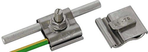 Dehn+Söhne Uni-Erdungsklemme 540 250 M8 Rd8-10mm+4-50qmm Verbinder für Blitzschutz 4013364138650