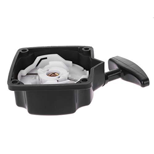 JOYKK Pull Starter Accessoires de scie à chaîne Remplacer Les pièces Débroussailleuse à Coupe-Herbe 40-5 - Noir & Blanc