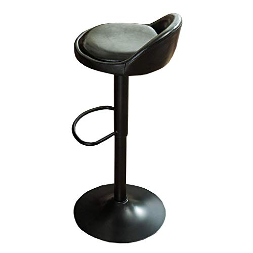 Youyouxiu barkruk keuken startspagina eenvoudige stijl roestvrij staal voorjaarsstuk eettafel kruk clubstoel hoge stoel kas in hoogte verstelbaar met rugcakes