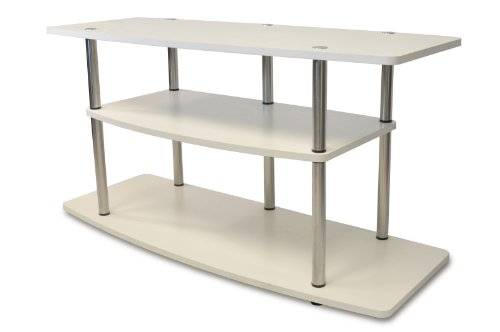 Convenience Concepts Designs2Go 3Tier Wide TV Stand White