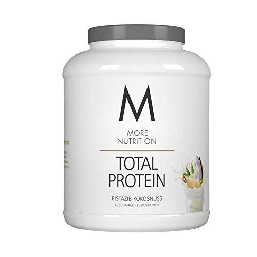 More Nutrition Total Protein - Whey & Casein Zur Optimalen Proteinsynthese 1 x 600 g (Vanille-Eiscreme)