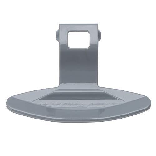 inlzdz Türgriff für Samsung Waschmaschine Trockner Wäschetrockner Ersatzteil Türhandgriff Verschluss Griff kompatibel mit vielen Modellen Grau A One Size