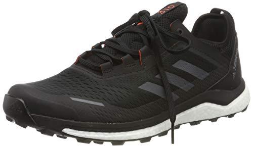 adidas Herren Terrex Agravic Flow Cross-Trainer, Schwarz (Core Black/Grey Six/Solar Orange Core Black/Grey Six/Solar Orange), 42 EU