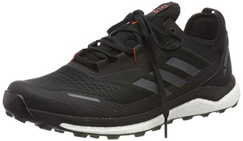 adidas Herren Terrex Agravic Flow Cross-Trainer, Schwarz (Core Black/Grey Six/Solar Orange Core Black/Grey Six/Solar Orange), 40 2/3 EU