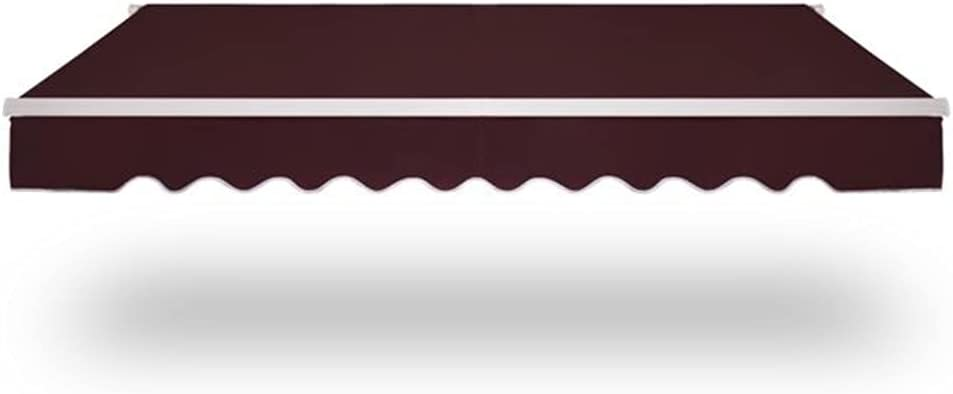 BOBOLO Cafe Patio Awning Canopy A surprise price is realized Fabric O Fashionable Water-Resistant UV and