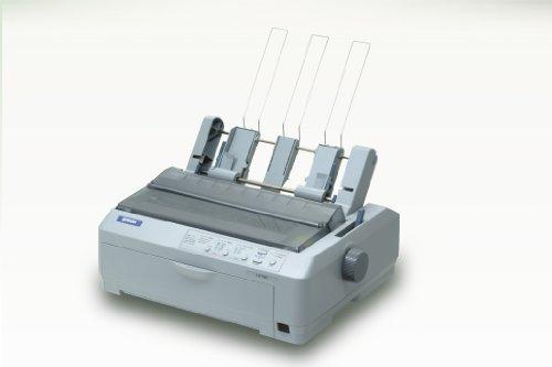 Epson LQ-590 Matrixdrucker (Punkte) 658 Zeichen pro Sekunde (658 Zeichen pro Sekunde, 4,23 mm, Code 39, POSTNET, UPC-A, UPC-E, Epson ESC/P2, 128 KB, USB 1.1)