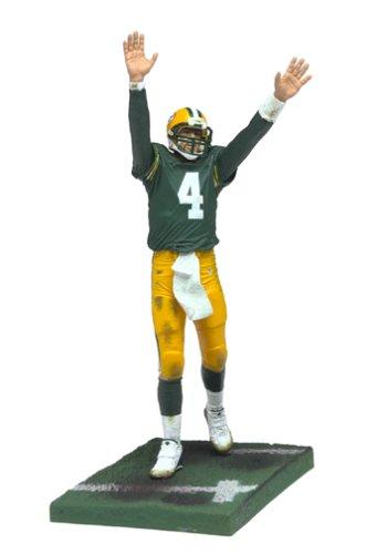 McFarlane Toys NFL Sports Picks Series 7 Action Figure Brett Favre (Green Bay Packers) Green Jersey