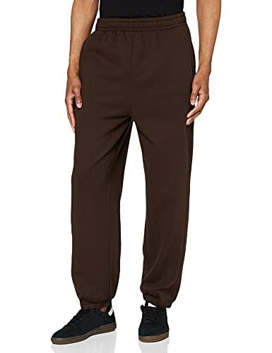 Urban Classics Sweatpants, Pantalon De Sport coupe large Homme, Marron (Brown), XS
