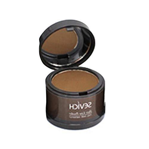 Hairline Powder - Poudre de cheveux fine et moelleuse Ligne de cheveux Shadow Makeup Couverture de racine de correcteur de cheveux, Traitement Hairline Traitement de l'ombre des cheveux modifiée