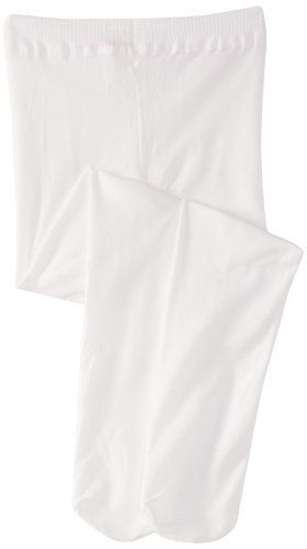 Country Kids - Collants Fille Microfiber Opaques - Blanc (White) - 18 mois