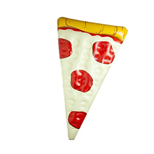 YQY Pizza Pool Float,72X48in Fun Inflatable Swimming Pool Inflatables Ride,Lounge Raft Decorations,Summer Beach,Water Fun,Lounge Toys