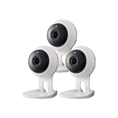 SNH-C6417BN - Samsung Wisenet SmartCam 1080p Full HD Plus Wi-Fi Camera Triple Pack