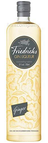 Friedrichs Gin Liqueur Ginger 0,7l 700ml (31% Vol)- [Enthält Sulfite]