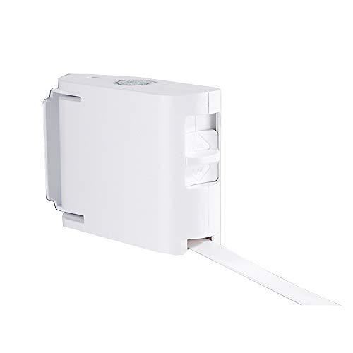 XIAOLIN Retractable Clothingline Heavy Duty Clothing Line för torkning Kläder Klädstreck Inomhus Utomhus Tvättmaskin Hängare Borra Fri & Väggmonterad Metod (4.2m) (Color : White)
