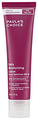 Paula's Choice Skin Recovery Tagescreme LSF 30 - Anti Aging Creme für Empfindliche Haut - Mineralische Sonnencreme mit Zinkoxid - Normale bis Trockene Haut - 60 ml