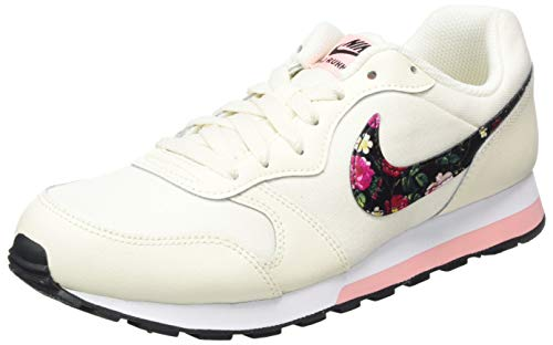 Nike Unisex Md Runner 2 Vf (Gs) Traillaufschuhe, Mehrfarbig (Pale Ivory/Black/Pink Tint/White 100), 38 EU