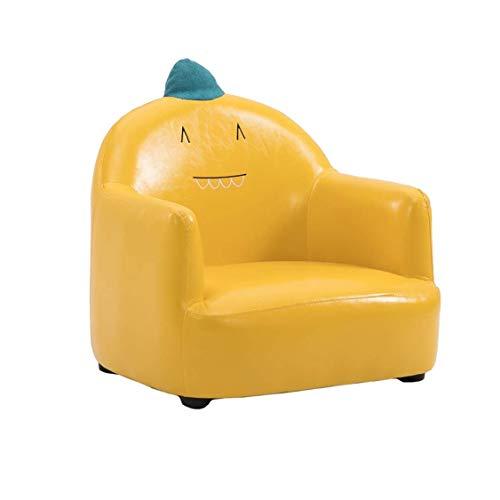 GZQDX Sofá de PU para niños, Muebles Simples Sofá Perezoso para niños/niños Sillón Relajante para Cualquier Sala de Estar/Dormitorio/Espacio de apartamento
