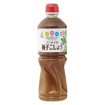 ケンコー トリプルバランス ノンオイル 柚子こしょう 1L 【常温】