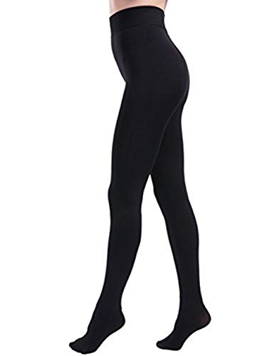 NORMOV Warm Fleece Lined Leggings for Women Winter High Waisted Stretchy Thermal Tights