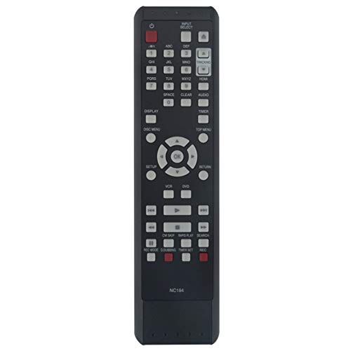 NC184 NC184UH Replacement Remote Control fit for Sanyo DVD Recorder FWZV475F