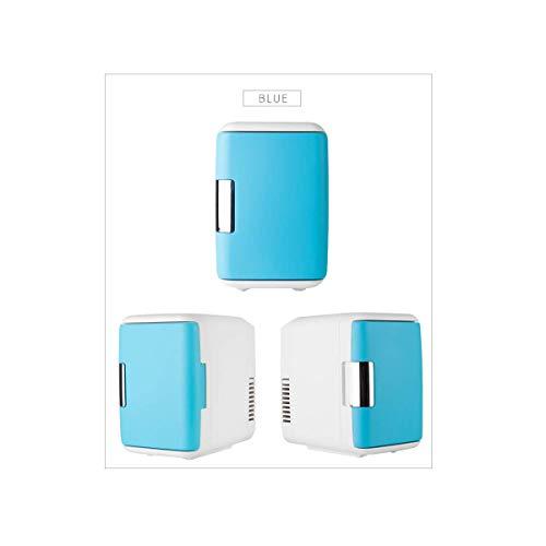 CNDY Gewerblicher Kühlschrank, Autokühlschrank, Minikühlschrank, Gleichstromkompatibilität, Camping, Reise, Picknick, Blue-OneSize