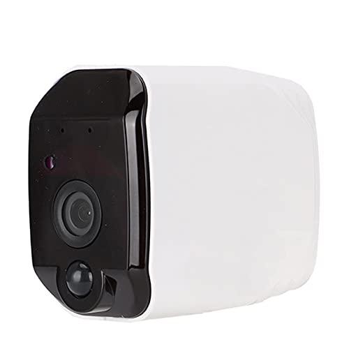 Tomanbery Visión de Campo Amplio Cámara Gran Angular de 166 ° Duradera WiFi a Prueba de Lluvia para vigilancia de Seguridad en Interiores(Magnet Holder Only)