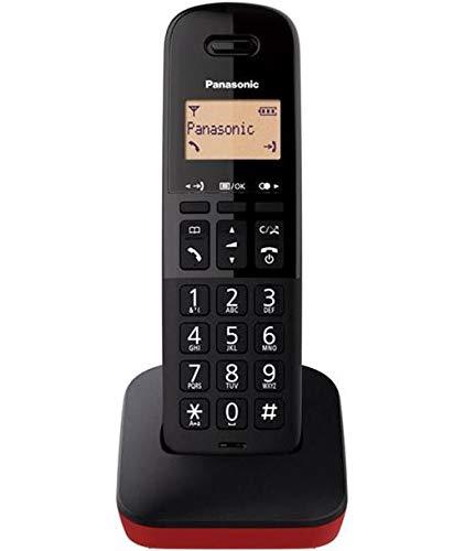 TELEFONO PANASONIC INALAMBRICO KX-TGB610JTR/ Rojo