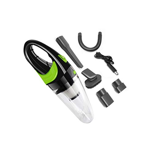 BAQIU Aspiradora de Mano inalámbrica, Mini aspiradora de Mano con Potente succión ciclónica, hasta 20 Minutos de Funcionamiento para el Pelo de Mascotas, Limpieza del hogar y del automóvil