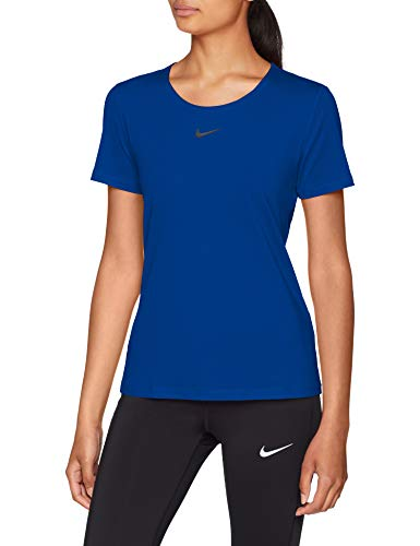 Nike Dames W NP Top Short Sleeve All Over Mesh T-shirt