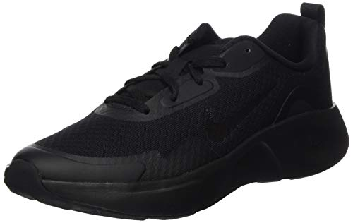 Nike Boy's WearAllDay (GS) Running Shoe, Black/Black-Black, 4.5 UK