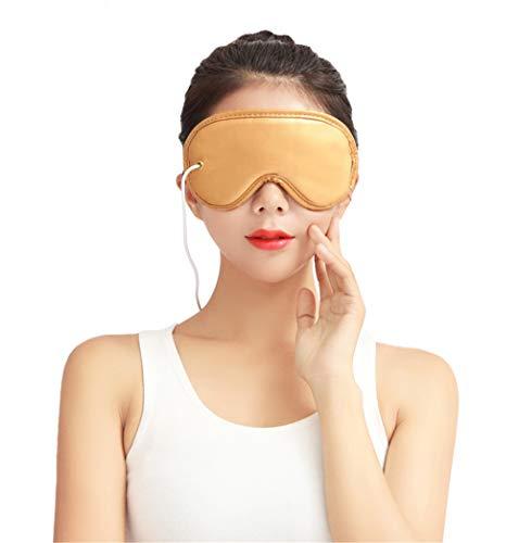 Beheizte Augenmaske - Elektrische Heizkissen Augenmaske Fern-Infrarot-Therapie Einstellbare Temperatur,Schlafen USB...
