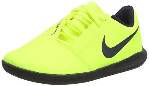Nike Unisex-Kinder Jr. Phantom Venom Club Ic Fußballschuhe, Grün (Volt/Obsidian/Volt 717), 35.5 EU
