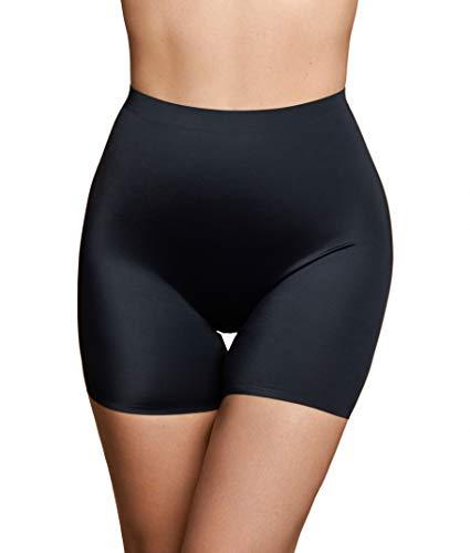 Onzichtbare Short, Naadloze Shapewear, Lichte Buikcorrigerend ondergoed, Soepel Corrigerend en Comfortabel Ondergoed, Anti-schurende shorts, Huidskleurt en Zwart, S-XL