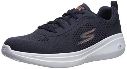 Skechers Men's GO Run FAST-55106 Sneaker, Navy, 9 M US
