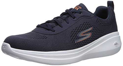 Skechers Men's GO Run FAST-55106 Sneaker, Navy, 10.5 M US