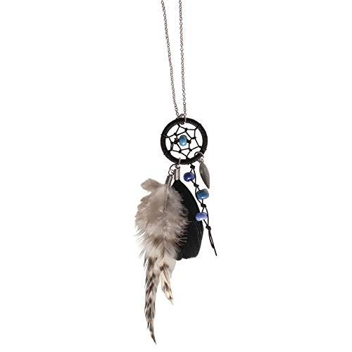 CREATIV DISCOUNT® NEU Traumfänger-Kette Luna, Silber - Hinweis: Dieser Artikel Wird Ihnen direkt vom Hersteller in einem separaten Paket zugeschickt