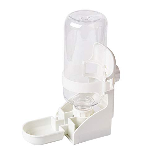 Oncpcare 17oz Rabbit Water Feeder, Pet Cage Suspended Water Dispenser, Hanging Automatic Small Animal Water Bottle Bowl for Bunny Chinchilla Hedgehog Ferret Hamster