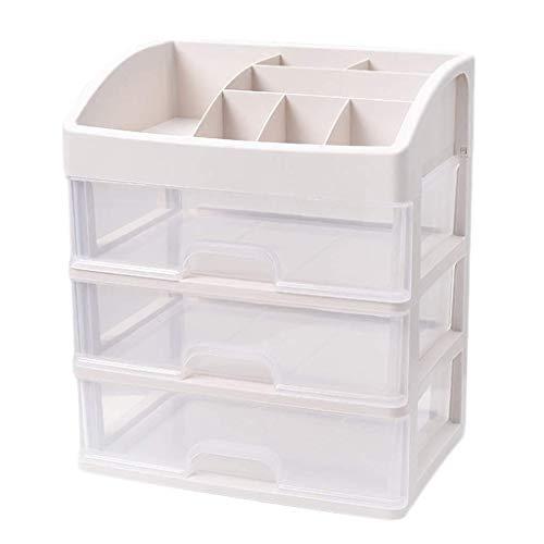 BOX Cosmétiques Boîte de Rangement En Plastique Transparent de Type Tiroir de Bureau Rouge À Lèvres Bijoux Soins de La Peau Produits D'Affichage Boîte de Rangement 34 × 25 × 40Cm