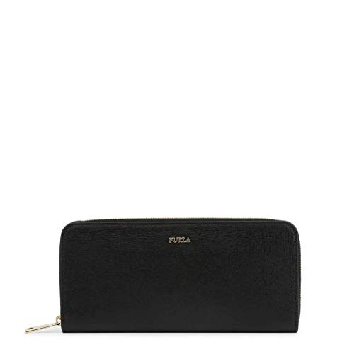 FURLA Babylon XL Zip Around Slim 1006869 Onyx