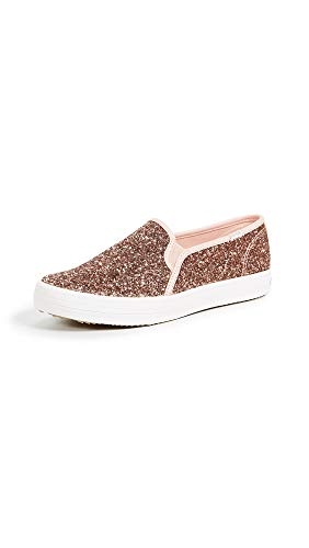 Keds Women's x Kate Spade New York Double Decker Slip On Sneakers, Rose Pink, 5 M US