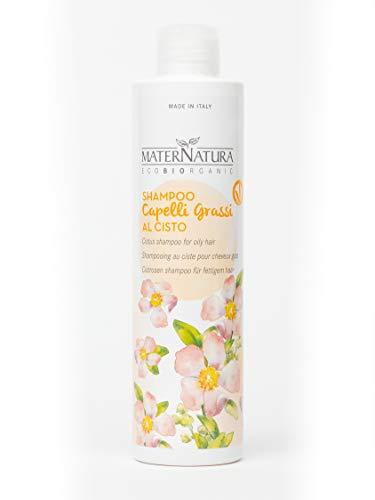 Maternatura Shampoo Capelli Grassi al Cisto, Beauty Routine Cute e Capelli Grassi - 250 Ml