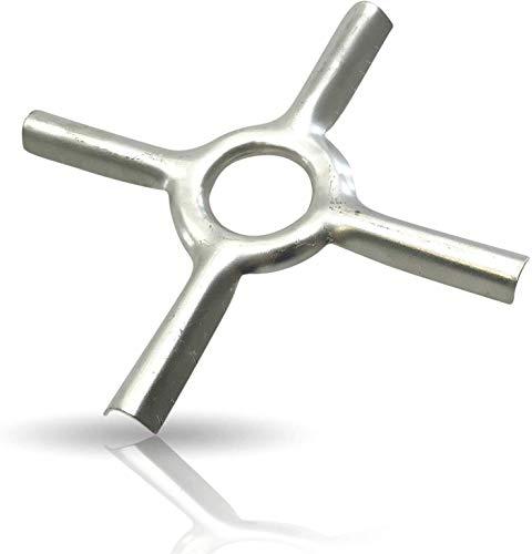 Kerafactum Accesorio para cocina de gas, accesorio para cocina de gas, estrella reductora para hornillo de camping, posavasos ideal para ollas y sartenes, soporte para sartenes