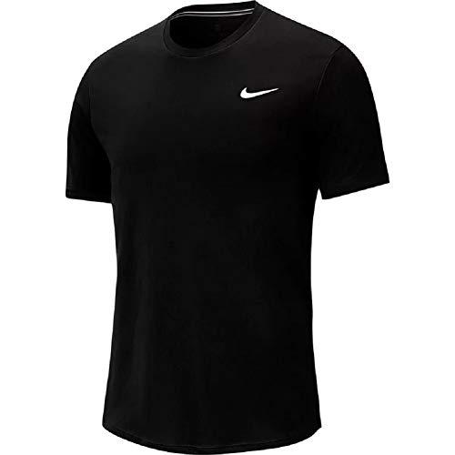 Nike Court Dri Fit - Camiseta de tenis blanco/negro M