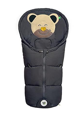 Set Odenwälder BabyNest Fußsäckchen Mucki mit Stoffwindel von Kinderhaus Blaubär   Baby-Winter-Fußsack für Babyschale