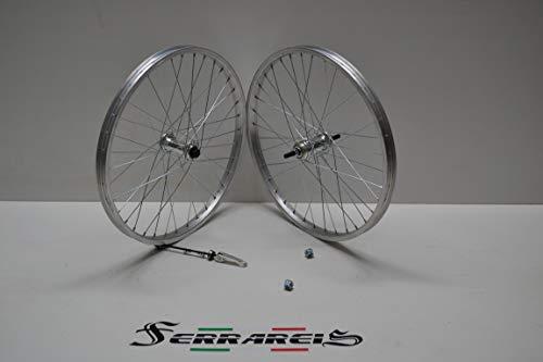 Cicli Ferrareis Cerchi O Ruote 20 MTB GRAZIELLA BMX Olanda Anteriore E Posteriore