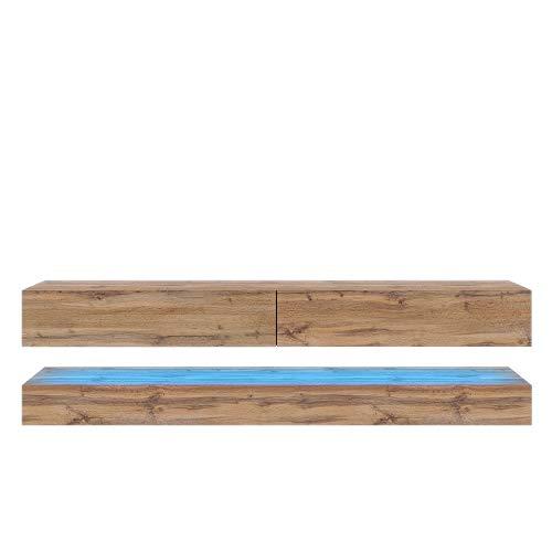Selsey Fernsehschrank, Eichenholzoptik matt, 140 cm